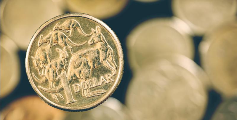 australian-dollar-coin - AUD