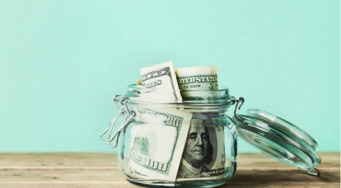 us-dollar-bank-notes-jar - USD