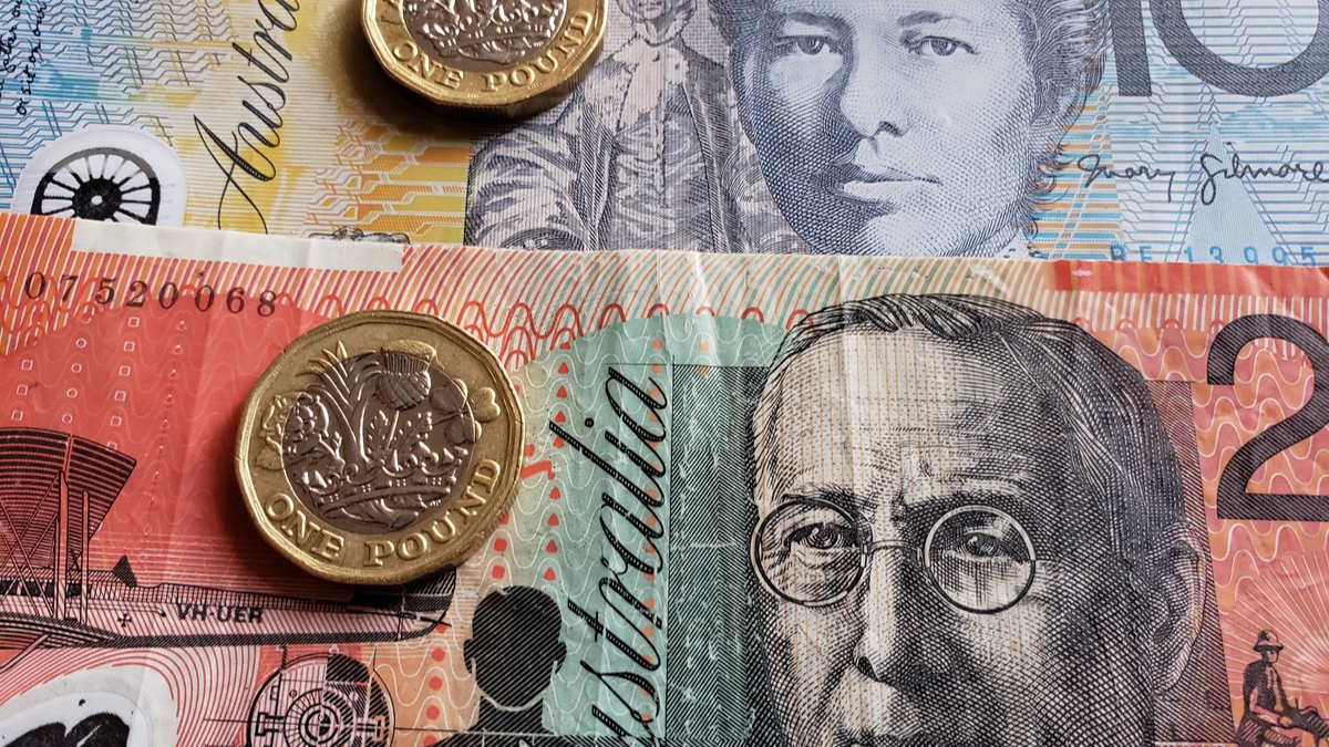 currency converter pounds sterling to aud