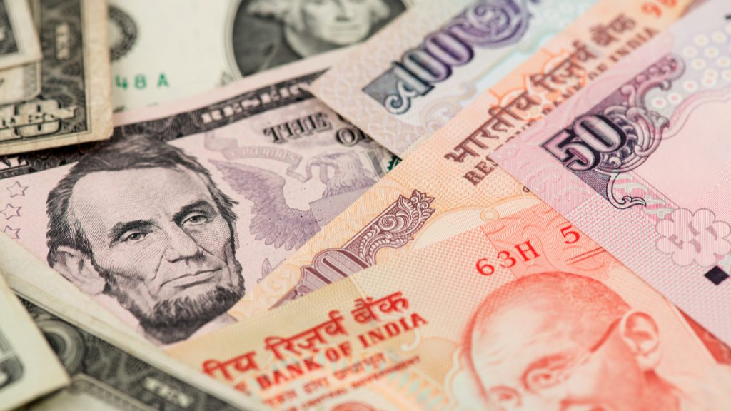 Usd Inr India Ru Under Pressure On