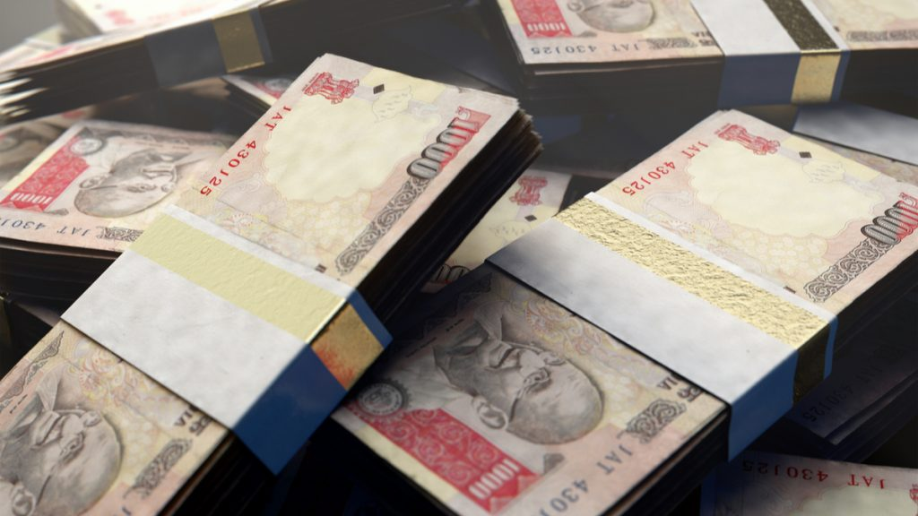 Usd Inr Indian Ru Falls To Record