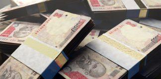 indian-rupee-bank-notes - INR