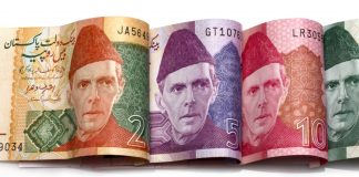 pakistani rupee bank notes